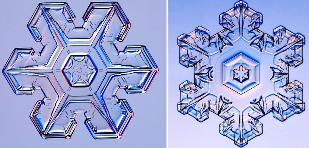 C mo se forma un copo de nieve gaia ciencia for Estrella de nieve